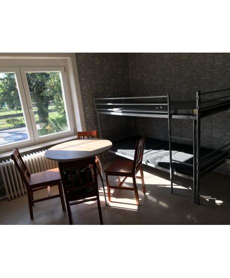Egy szobás apartman nagy 5 fő részére 1 éjszakára